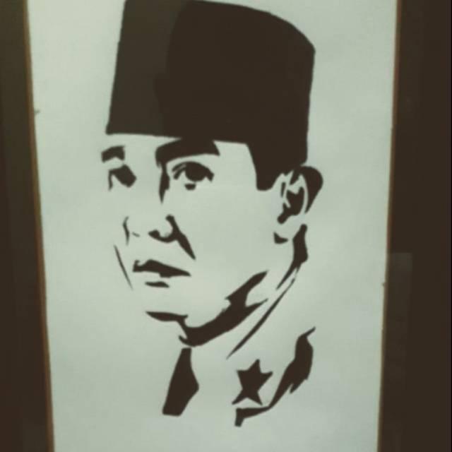 Lukisan Ir Soekarno Shopee Indonesia