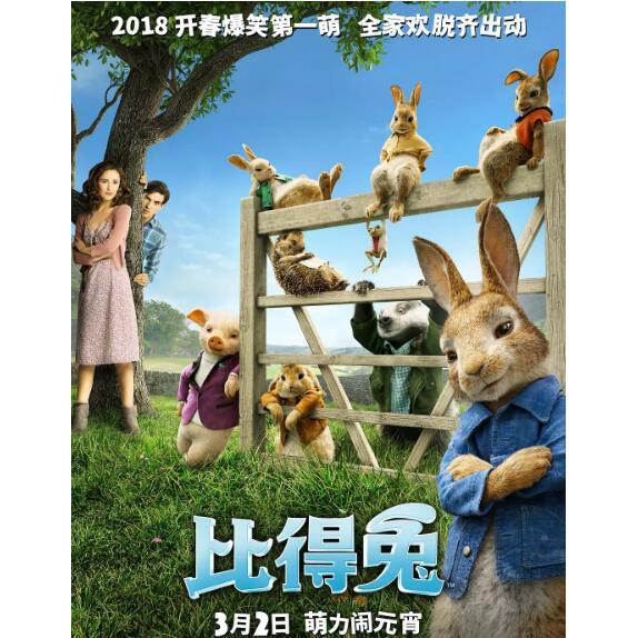 Dvd Film Peter Rabbit 2018 Full Version 2018 Dengan Kualitas Hd Shopee Indonesia