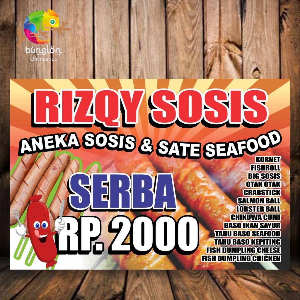 Get X Banner Sosis Bakar