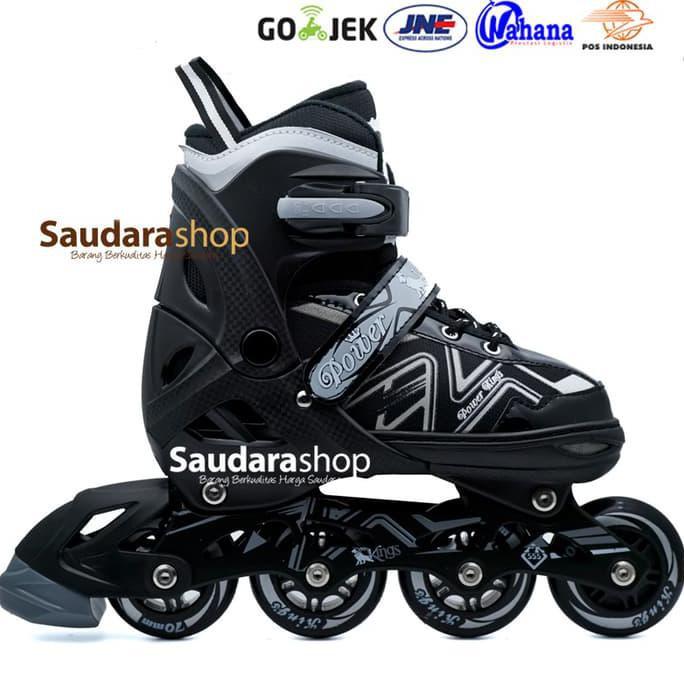 Tian-E Sepatu roda Inline Skate Roda Karet PINK   SepatuRoda Tian-E ... 0879c6dd7f