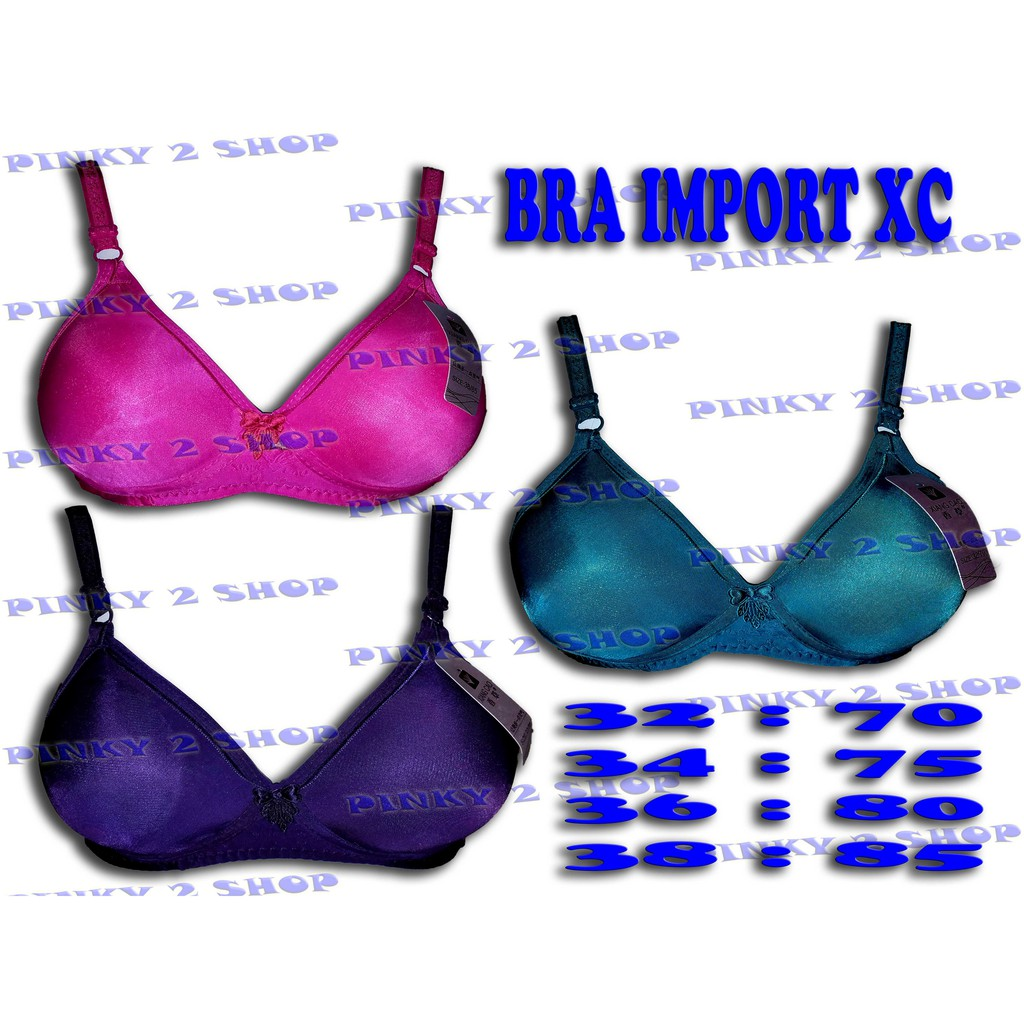 Luludi Simply Bra - LLB 60101 - Biru  70821fb123