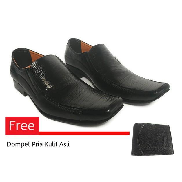 Sepatu kulit Versace Pantofel super  83619a676f