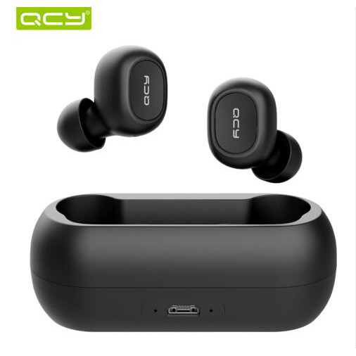 QCY qs1 TWS 5.0 Bluetooth 3D stereo wireless earphone with dual microphone