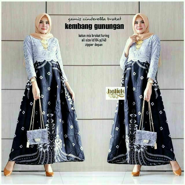 Gamis Baju Gamis Batik Wanita Muslim Model Terbaru Zamzam Garansi Termurah Di Shopee Shopee Indonesia