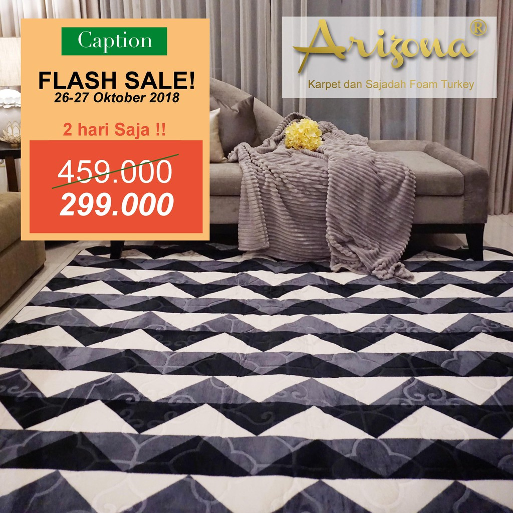 Karpet Busa 3d Arizonam Premium Turkey Shopee Indonesia Sajadah Roll Medeena 105 X 570 Cm 21003