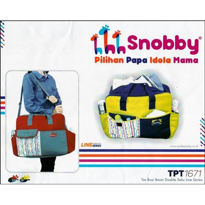 TAS BAYI SNOBBY KECIL MARBLES TPT 1573 / TAS SNOBBY ORIGINAL | Shopee Indonesia
