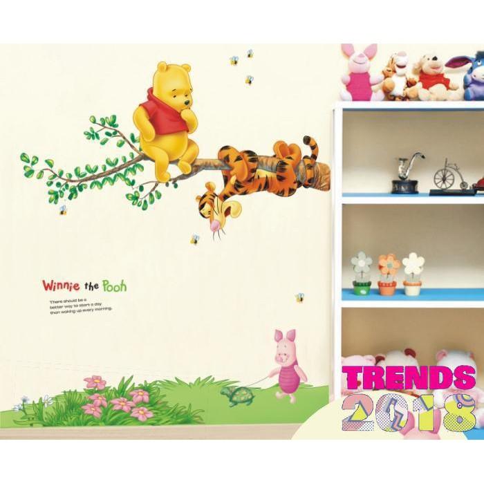 wall sticker/wall stiker 50x70 transparan-AM7054-PINK LOVE HEART | Shopee Indonesia