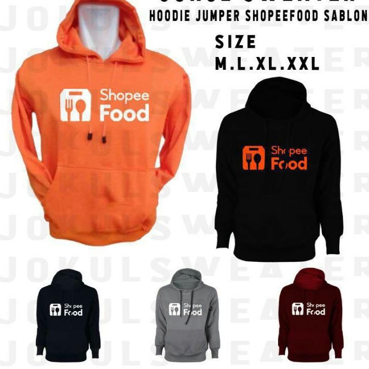 Jaket Hoodie Sweater Shope Food Custom jaket Shope Hodie Shope Sweter Terbaru