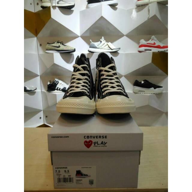 Sepatu Converse All Star 70s Seventies CDG PLAY Off White Putih High  Original PREMIUM BNIB R  e18b60d8d0