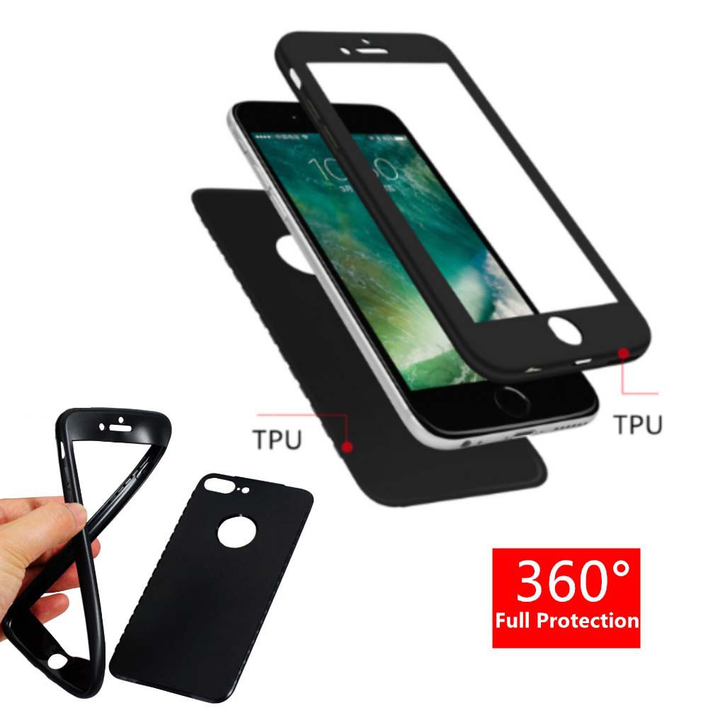 """Case 360 Iphone 6 / Iphone 6G Iphone 6S 4.7"""" Casing FULL Body Softcase 2IN1 Silikon PROTECT Babyskin   Shopee Indonesia"""