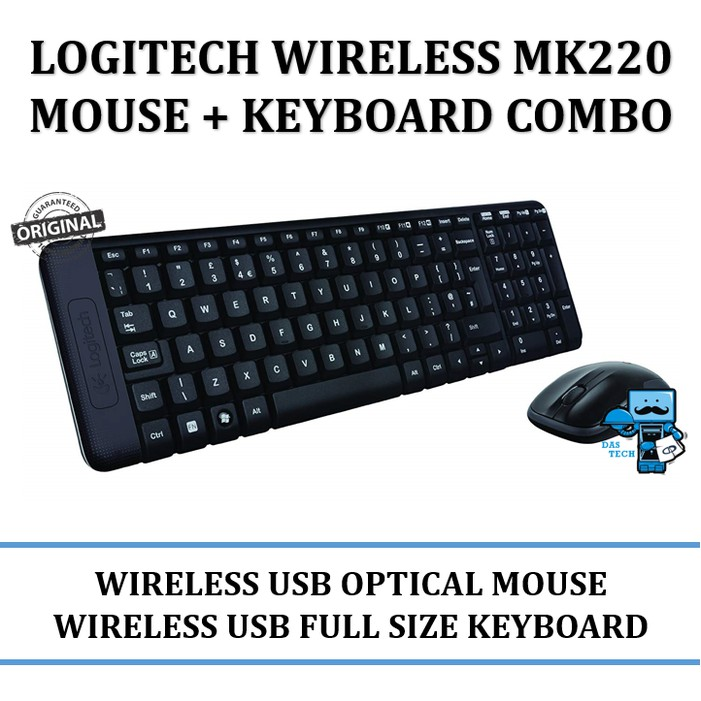 4db819b361d Wireless Keyboard and Mouse Combo 2.4GHz with USB Receiver | Shopee  Indonesia