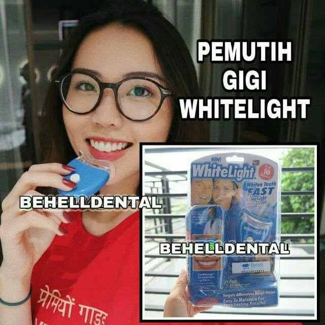 pembersih gigi kuning white light pemutih gigi kuning akibat me rokok dan  lainnya  c05c1684fb