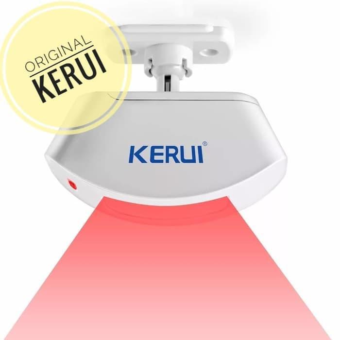 Elektronik Kerui Wireless Tirai Pir Motion Sensor Gerak Alarm Detector Shopee Indonesia