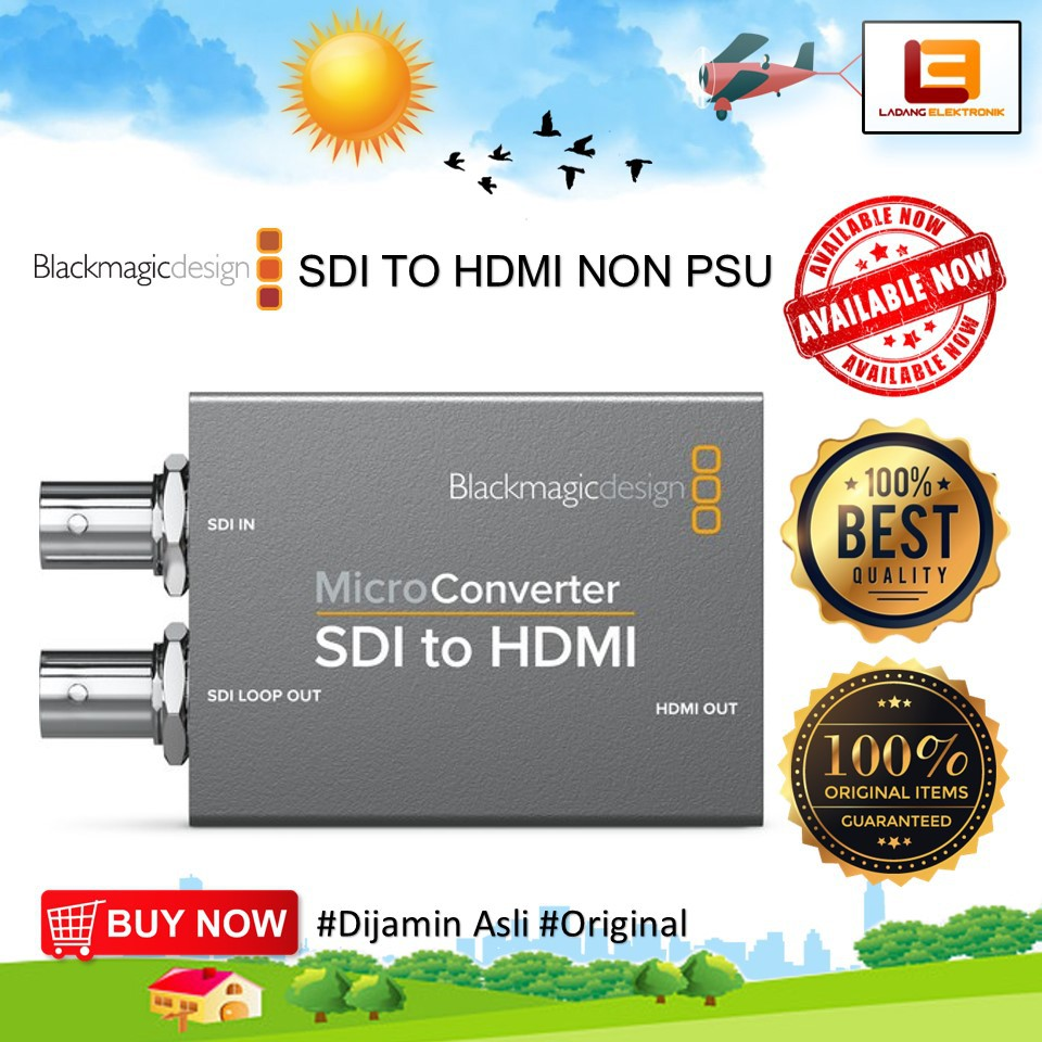 Blackmagic Design Micro Converter Sdi To Hdmi Tanpa Power Supply Shopee Indonesia