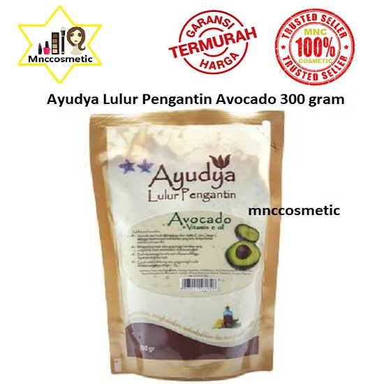 Ayudya Lulur Pengantin Avocado 300 Gram