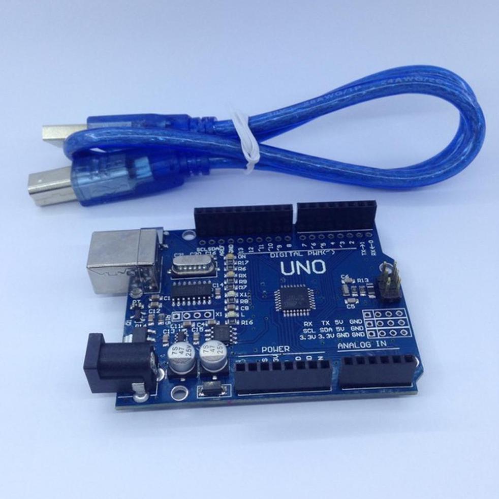 Everso Papan Arduino Uno R3 Rev3 Atmega328p Dengan Kabel Usb High Quality Dip Cable Shopee Indonesia
