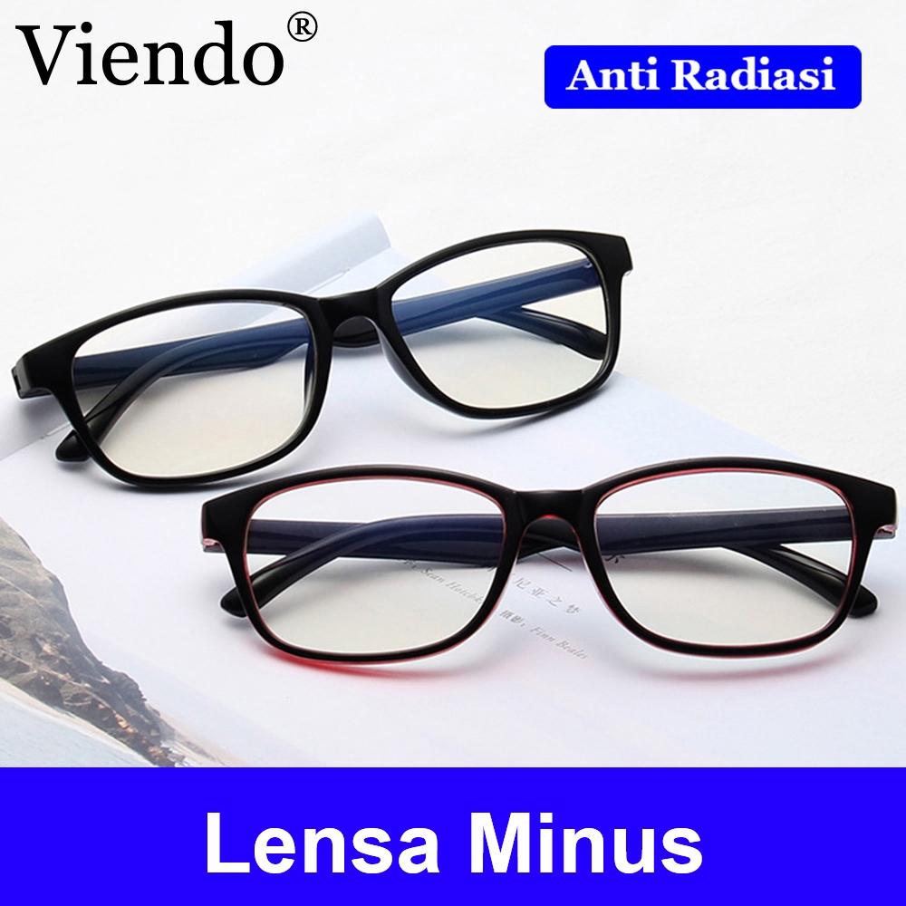 New Kacamata Kacamata Fashion  Frame Kacamata Clarks + Lensa Minus  Antiradiasi  441d9ad963
