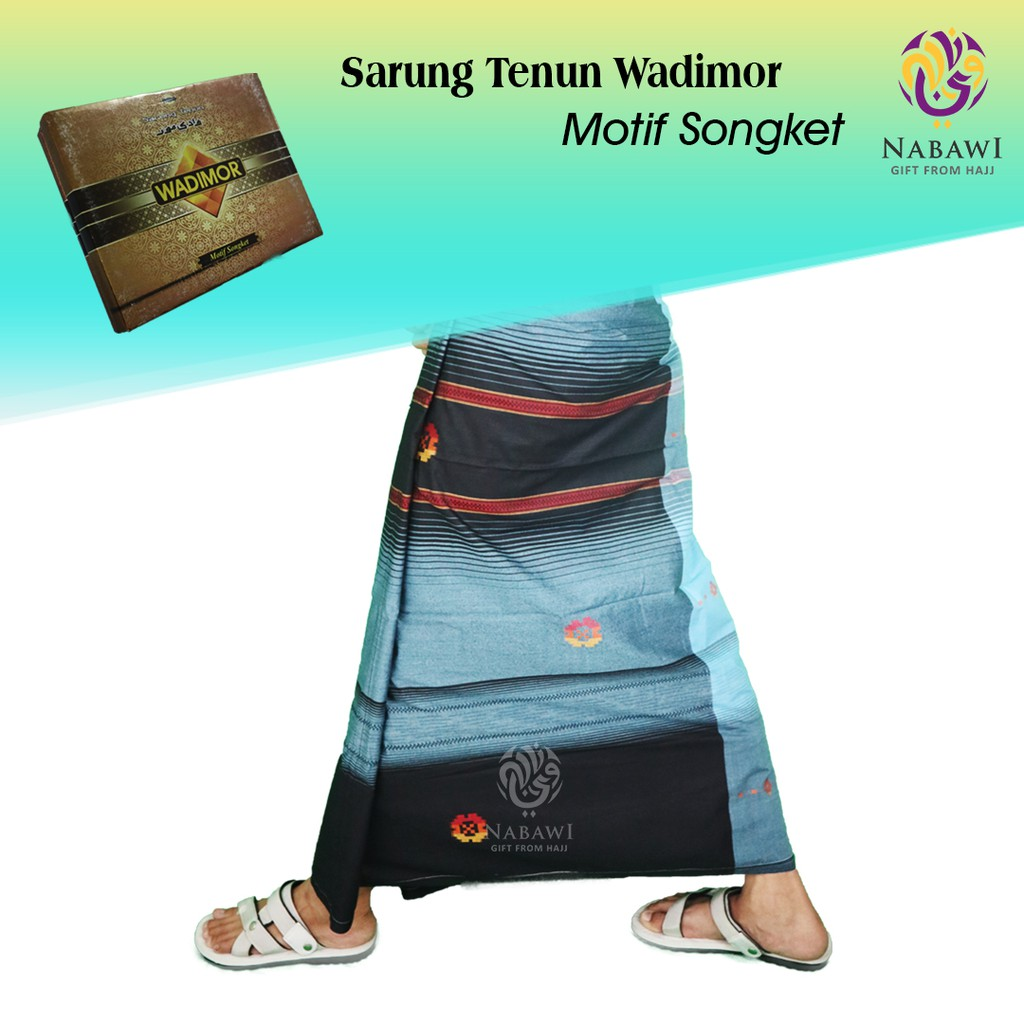 Sarung Tenun Wadimor Motif Songket Shopee Indonesia Darussalam