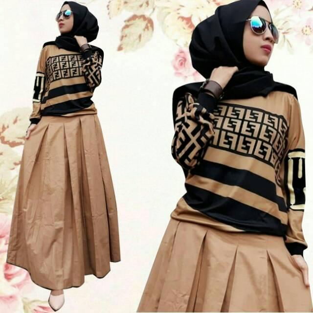 Baju muslim Dress  33386311ed