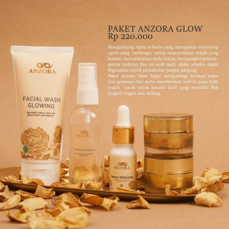 ★★★ AMR distributor resmi anzora skincare/anzora acne/anzora glow/jerawat/cream jerawat/paket ✺ Read