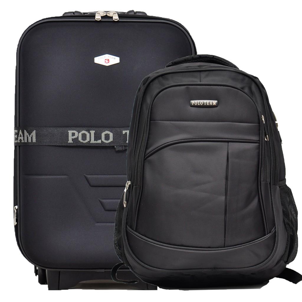 aaeeb9f103 Polo Team Tas Koper 2 Roda 933 Size 20inch - Hitam | Shopee Indonesia