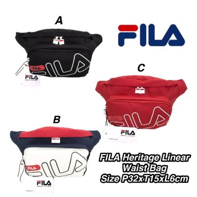 FILA Heritage Linear Waist Bag  987a3929f158e