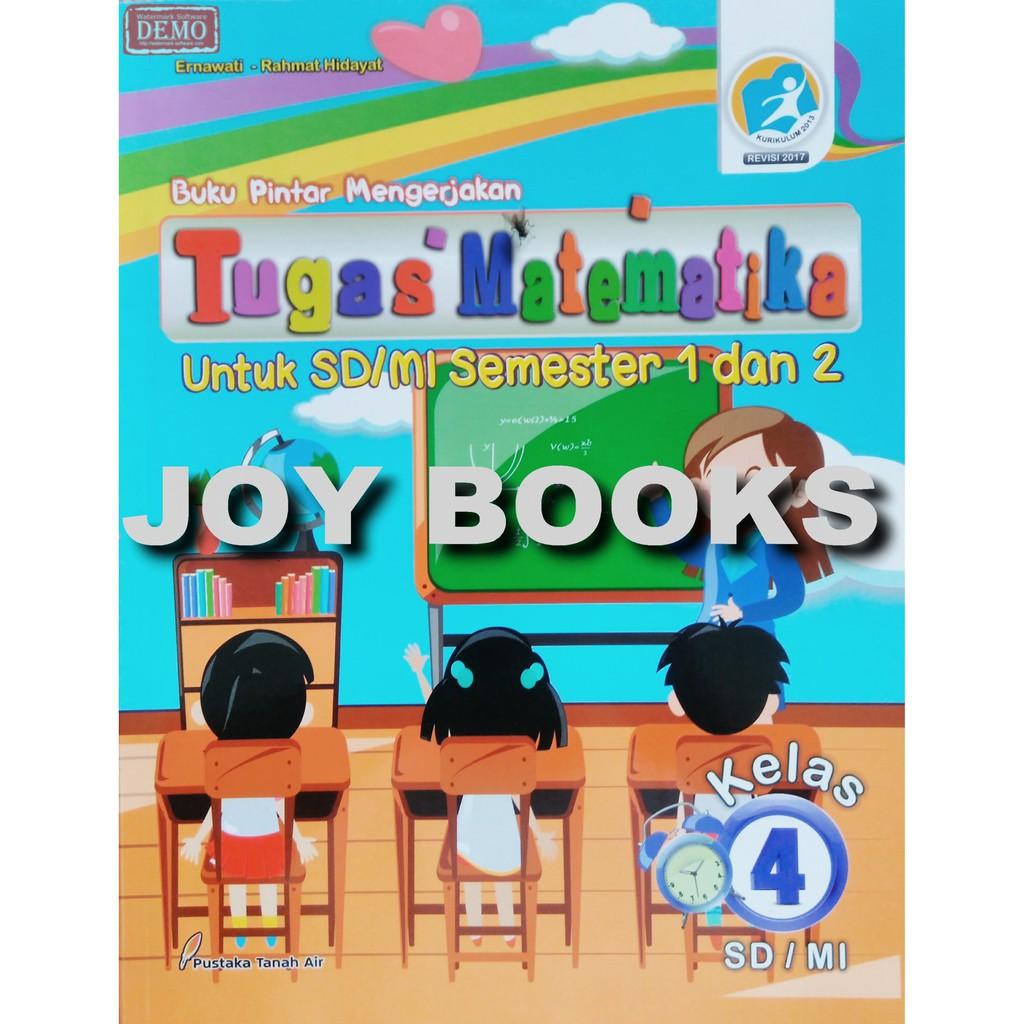 Buku Matematika Sd Kelas 4 K13 Arya Duta Shopee Indonesia