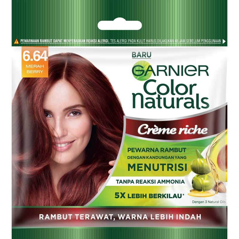 GARNIER Hair Color Naturals Cr me Riche 20ml Shopee