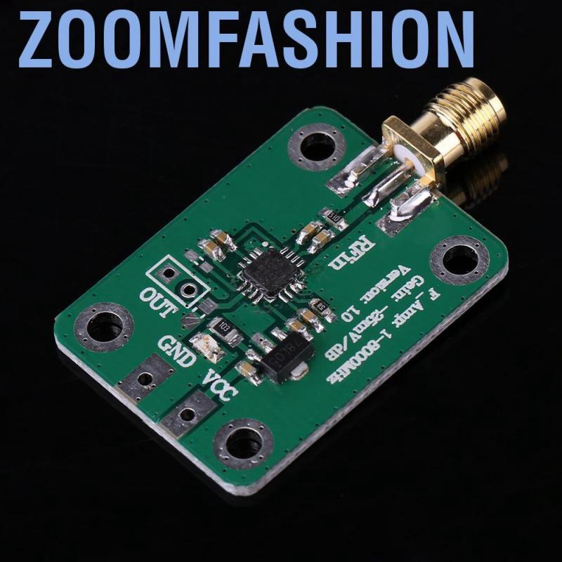 AD8318 RF 1-8000MHz Logarithmic Detector 70dB RSSI Measurement Power Meter