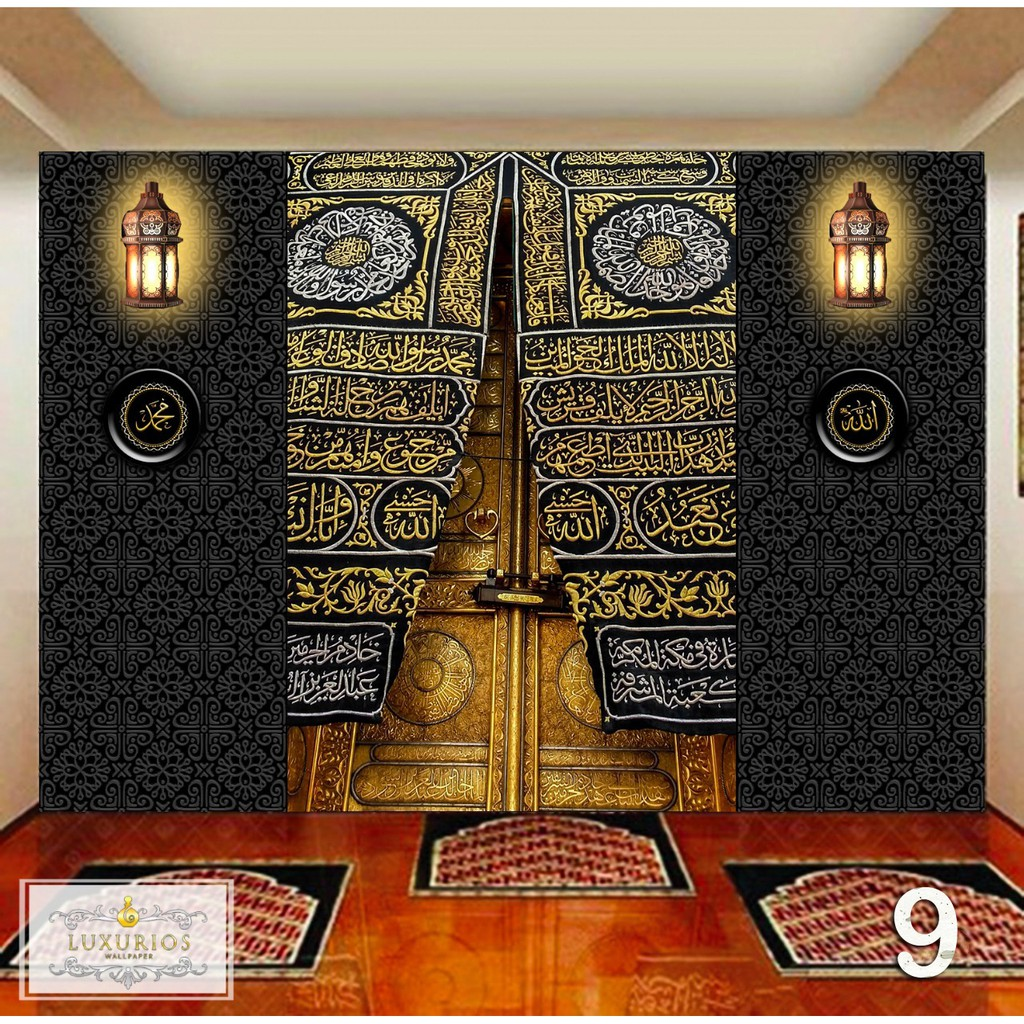 Wallpaper Custom 3D Motif Islami