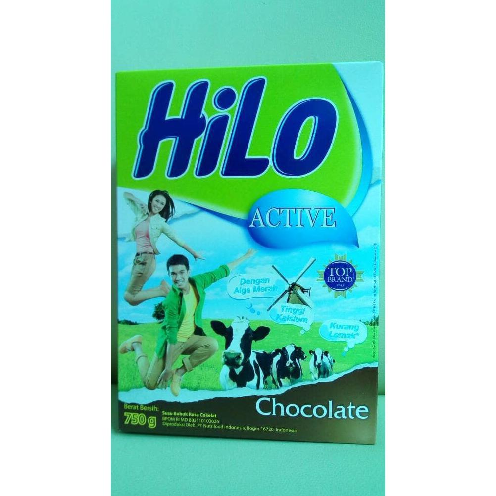 Hilo Active Rasa Chocolate Shopee Indonesia Teen Vanilla Caramel 750g