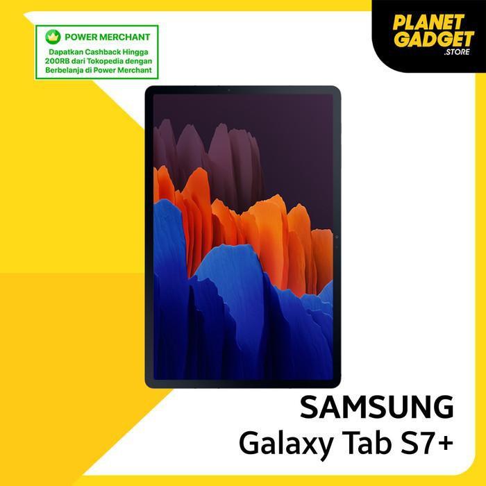 tablet mantap coy.... [GARANSI SAMSUNG SEIN] Samsung Galaxy Tab S7 Plus RAM 8/256GB - Hitam