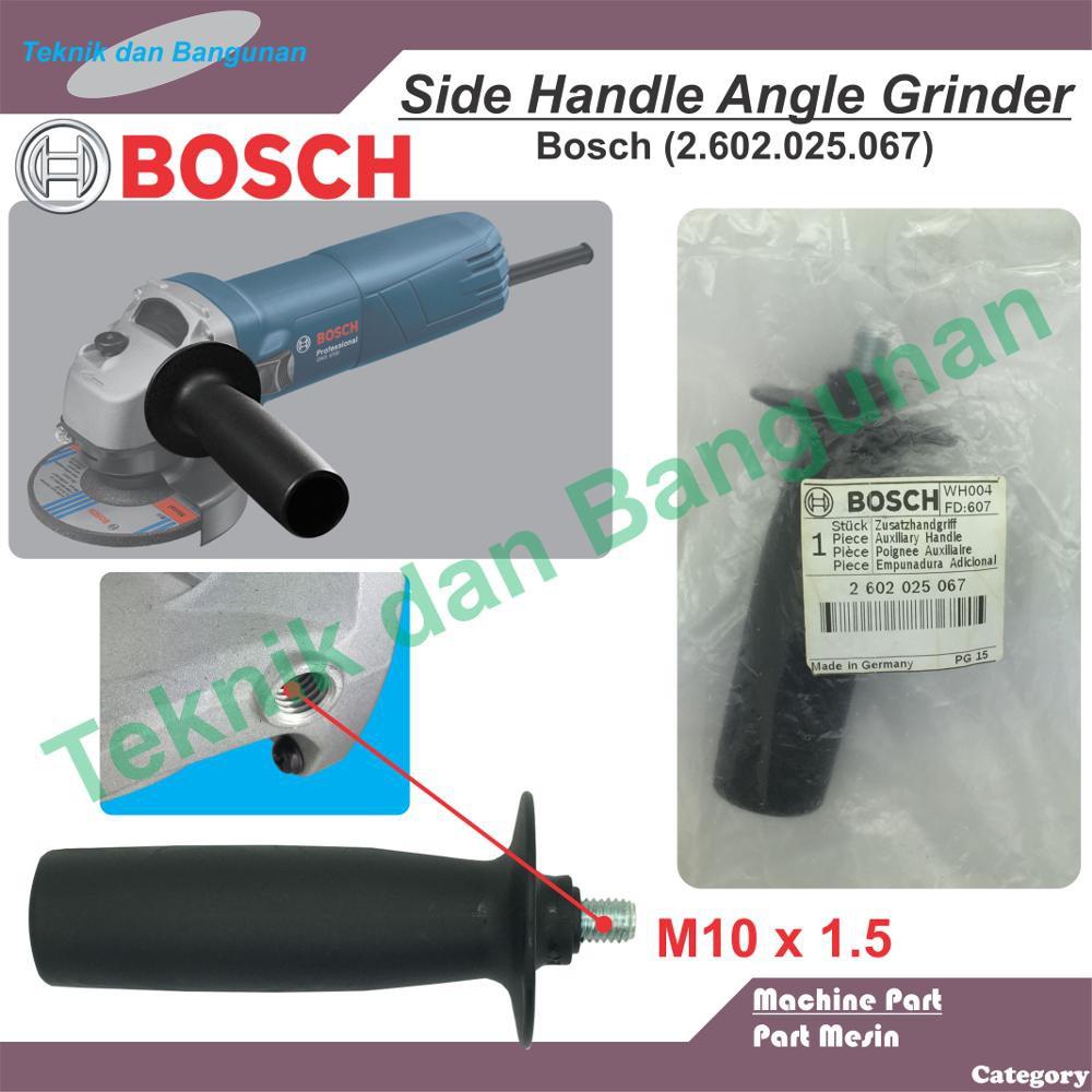 Handle / Pegangan Samping Mesin Gerinda BOSCH GWS 060 / 5-100 / 7-100   Shopee Indonesia