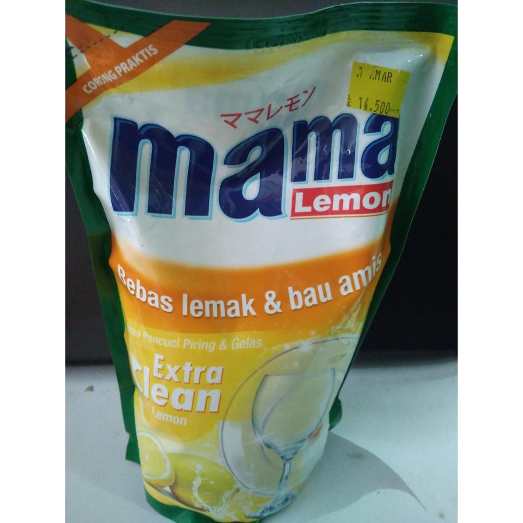 Paket Hemat Cuci Piring Sunlight Nature Botol 750ml Refill 800ml Mama Green Tea Pencuci 2 Pouch Lime