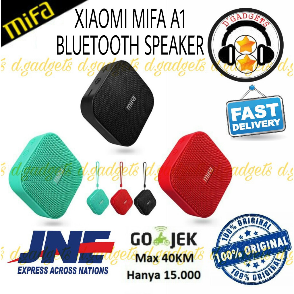 Xiaomi Mifa A10 Bluetooth Speaker Wireless Portable Stereo Sound 10w Bri F10 Outdoor Ipx6 Waterproof Shopee Indonesia