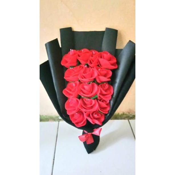 Hc Buket Bunga Murah Buket Bunga Mawar Kado Wisuda Buket Untuk Cowok Promo Hari Ini