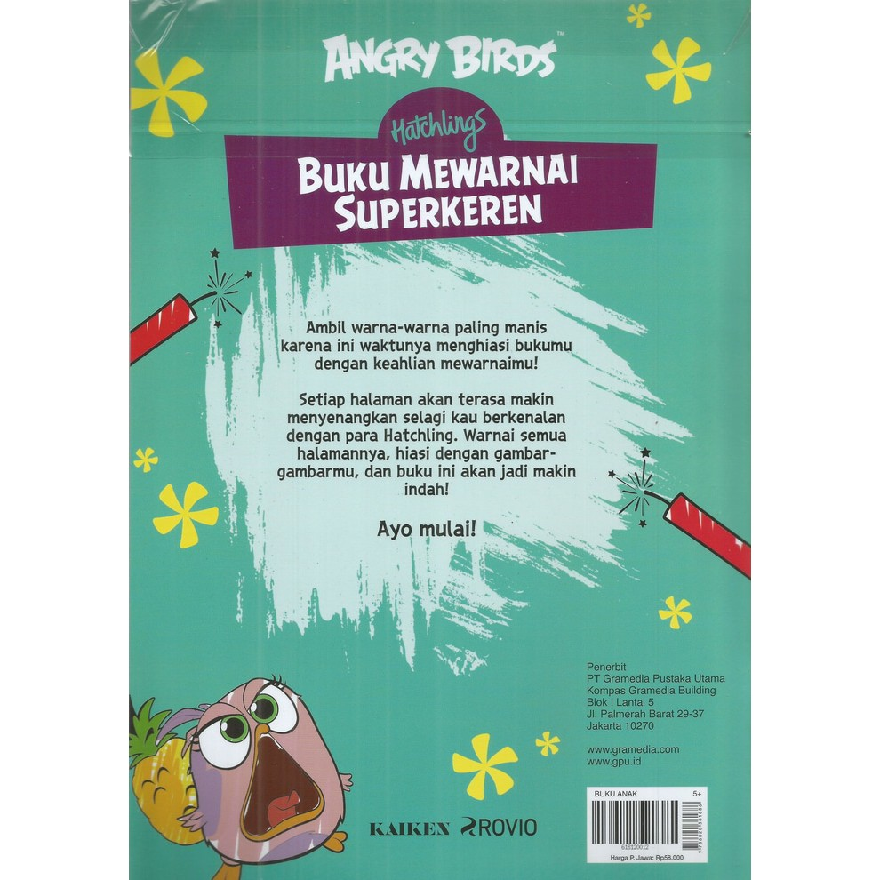 Angry Birds Hatchlings Jurnal Imut Shopee Indonesia