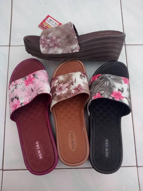 Sandal Wedges Wanita New Era Shopee Indonesia