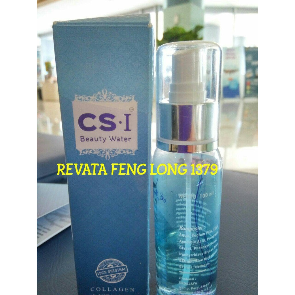 Cs I Beauty Water Collagenvitc Spray 100 Ml Shopee Indonesia