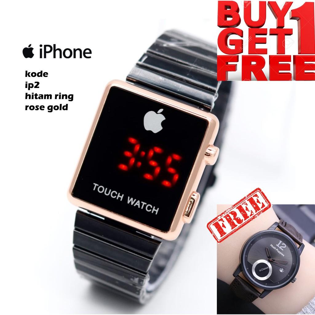BUY 1 GET 1 FREE - Paket Jam Tangan Digital IPHONE - Touch ...