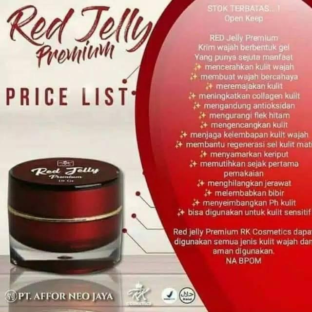 Cream Red Jelly Apa Bisa Untuk Kulit Berjerawat