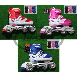 Sepatu Roda bajaj dekker Inline Power Skate SUPERB SOL JAHIT S M L f22ac4c1b7