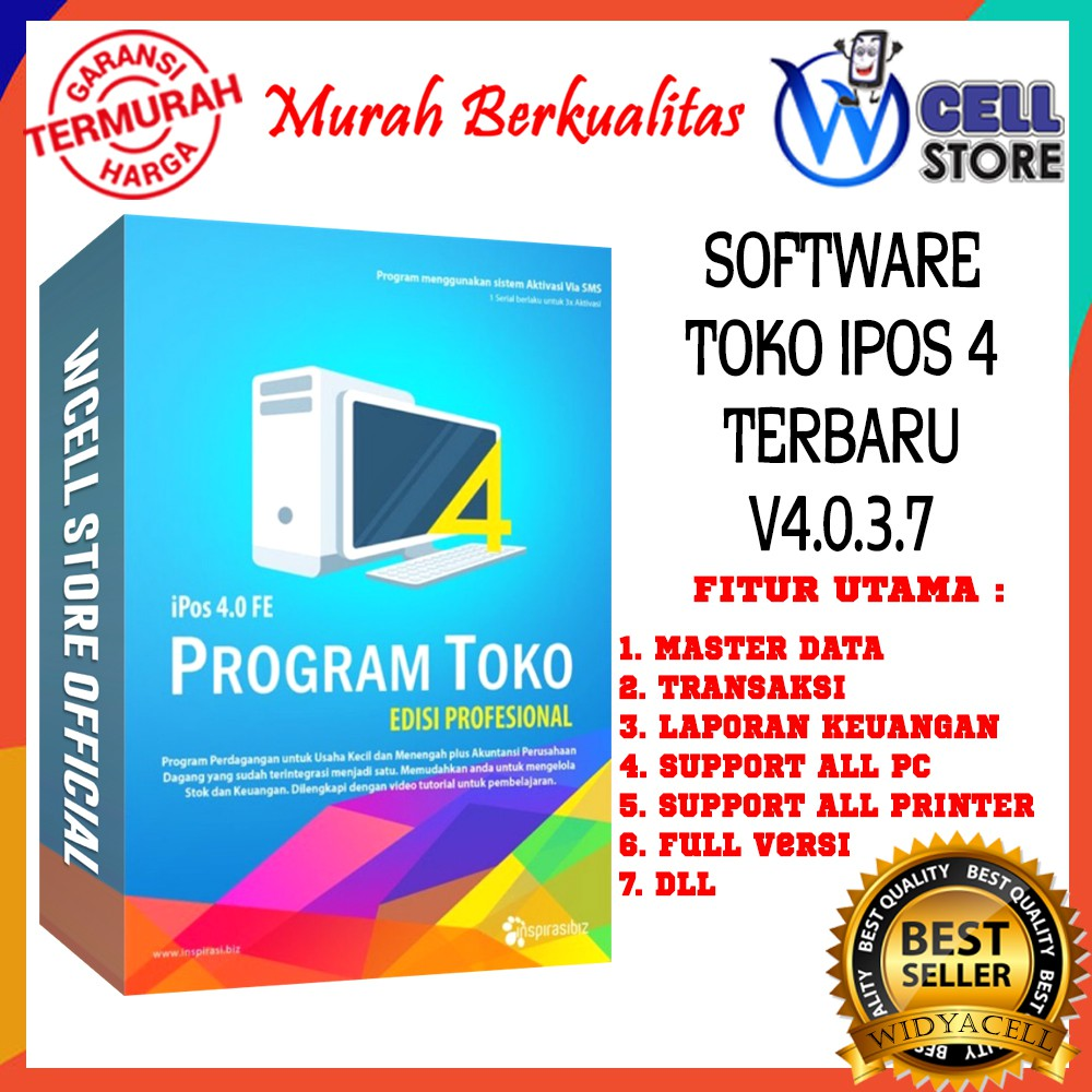 SOFTWARE PROGRAM APLIKASI KASIR TOKO IPOS 4.0.3.7 SOFTWARE ALL PC APLIKASI FULL UNLIMITED AKTIVASI