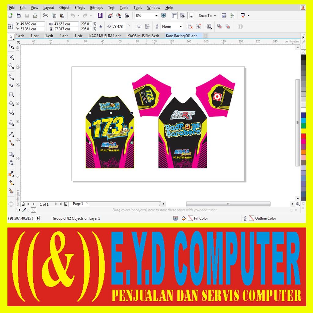 Download Template Jersey Sepeda Cdr - Jersey Terlengkap