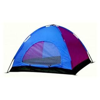 Tenda Dome 4 Orang Single Layer Kemping Camping Hiking Travelling gunung hunting berburu hyu!