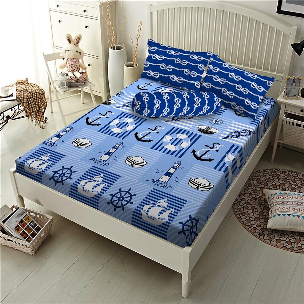 Sprei Bedcover Set Panca Star Collection Sierra Dan Dobby White Starry Night Zleepi Shopee Indonesia