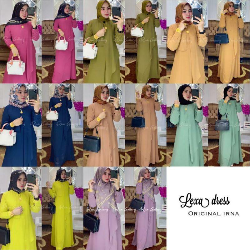 LEXA DRESS ORIGINAL BY IRNA GALLERY