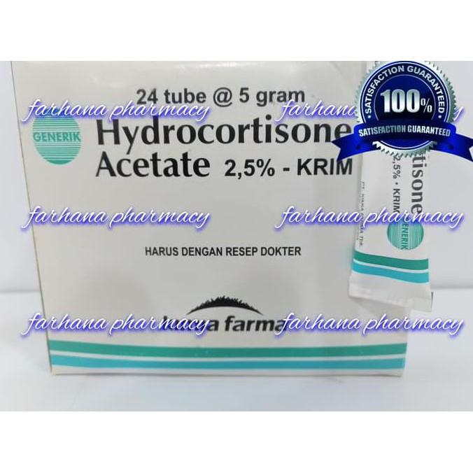 Hidrokortison Salep Kulit Untuk Gatal Untuk Alergi Untuk Radang By Khanza Store Shopee Indonesia