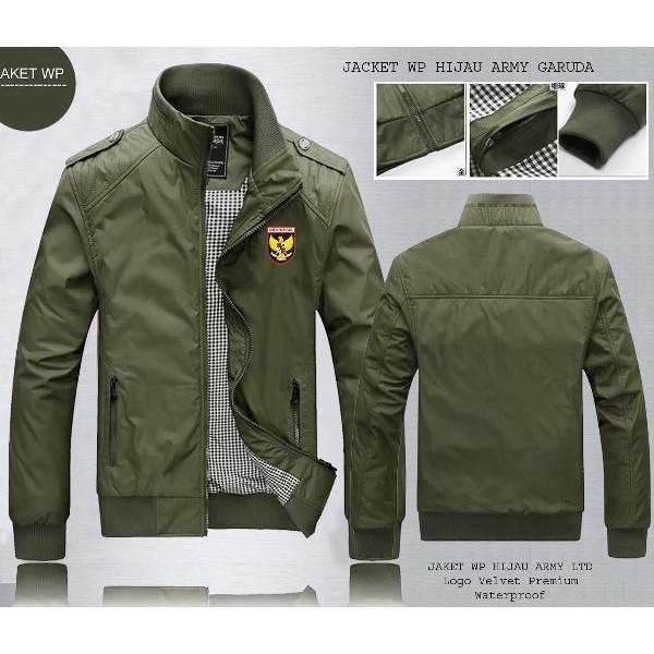 Jaket Bola Jaket Bola Jaket Bola Jaket Gunung Wp Hijau Army Garuda All Club   611a038057