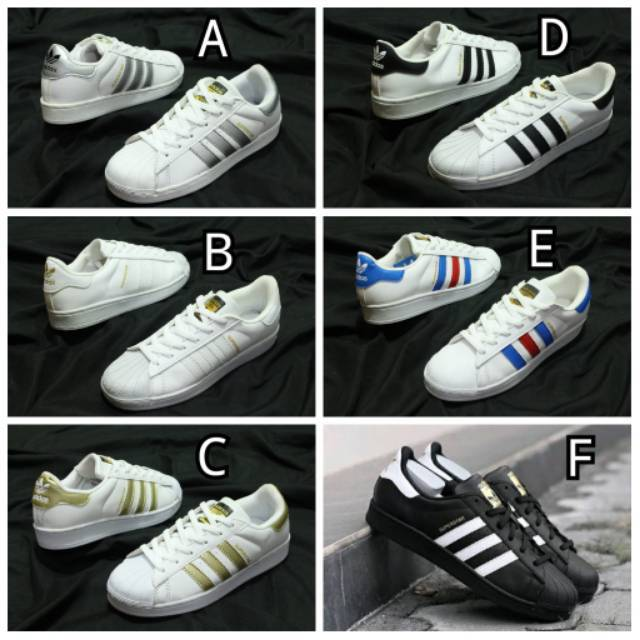 Obral Sepatu Adidas Neo Superstar 37 43 Sepatu Couple Adidas Retro